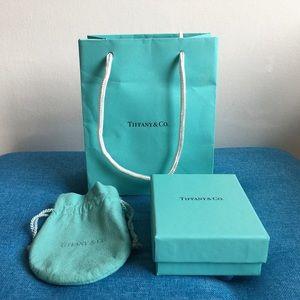 Tiffany & Co. 1 Box, 1 bag, 1 pouch